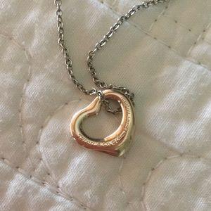 Tiffany & Co. Jewelry - Tiffany & Co. Elsa Peretti rose gold open heart